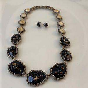 Chloe and Isabel stone necklace set
